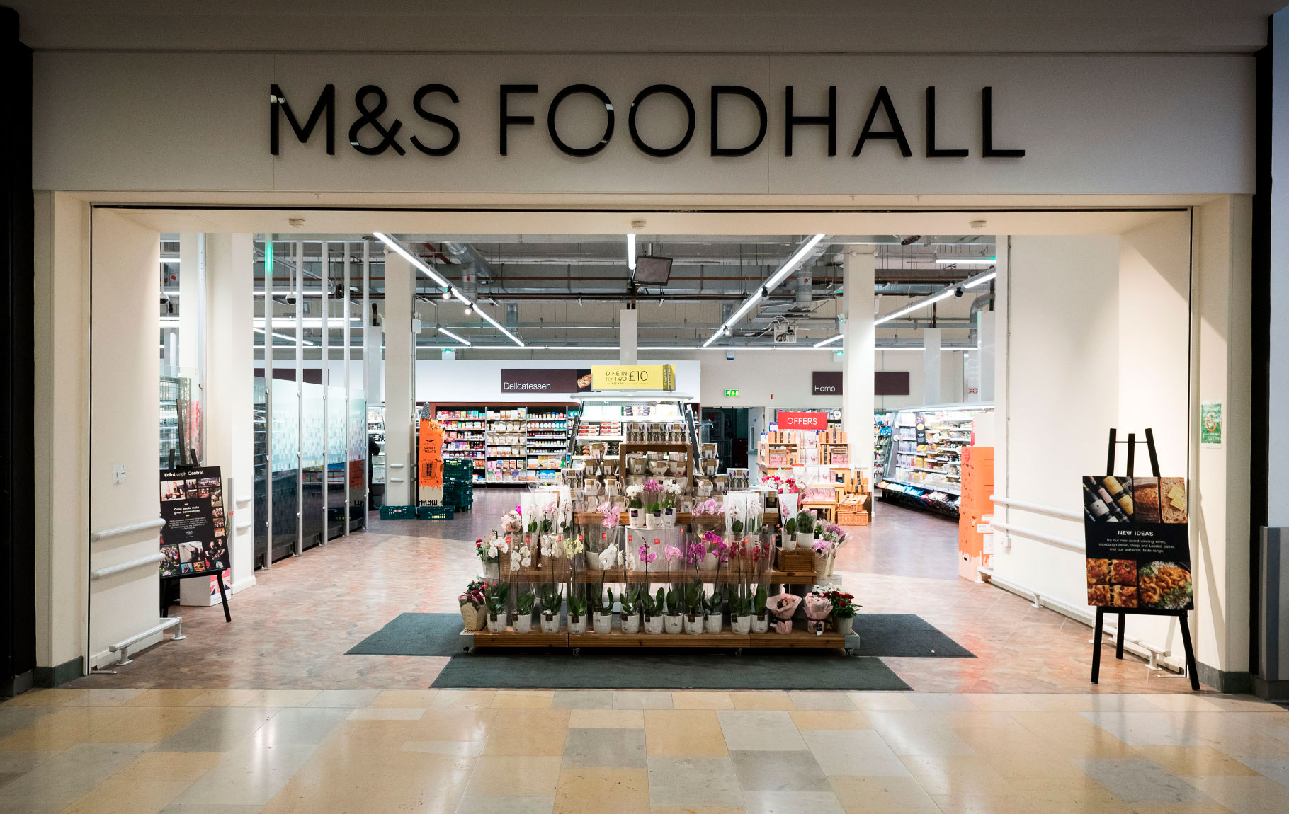 M&S Simply Food logo